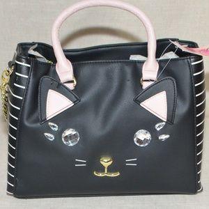 ModCloth Betsey Johnson Kitsch Meow Satchel Bag